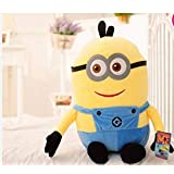 PRACHI TOYS Stuffed Cute Minions Cartoon Soft Toy - Yellow (25 cm)
