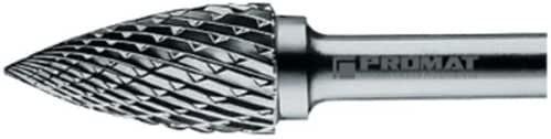 /Ø 6mm HM Exact Hartmetall Fr/ässtifte Form G Spitzborgen SPG