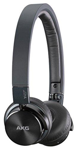 AKG BT Mini Stereo On-Ear Kopfhörer (Wireless Bluetooth, NFC, aufladbarer, abnehmbarem Audiokabel, integrierter Lautstärkeregelung/Mikrofon, geeignet für Apple iOS/Android Geräten) schwarz - 2