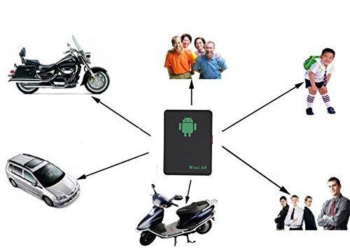 41eSJQlzjVL - qzt A8Mini Global GPS Localizador Multifuncional espía oído Bug Personal gsm Localizador Tracker Finder posicionamiento Audio Vigilancia SOS Seguridad para el hogar para niños/Mascota/Coche