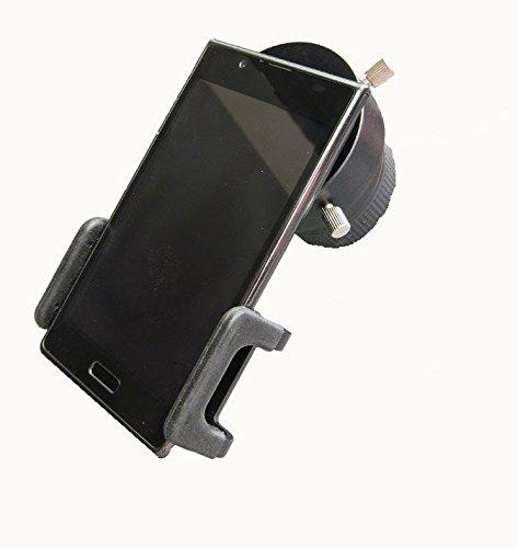 TS-Optics universal Smartphone iPhone Adapter mit T2 Anschluß und Okularadapter 51 - 59 mm für Fotografie durch Teleskop oder Spektiv, SPA-T2 + T2-D59 Orion Handy