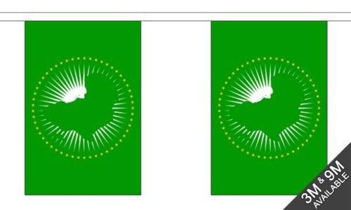 africano unione nazionale bandiere bandierine 9metre, 30+