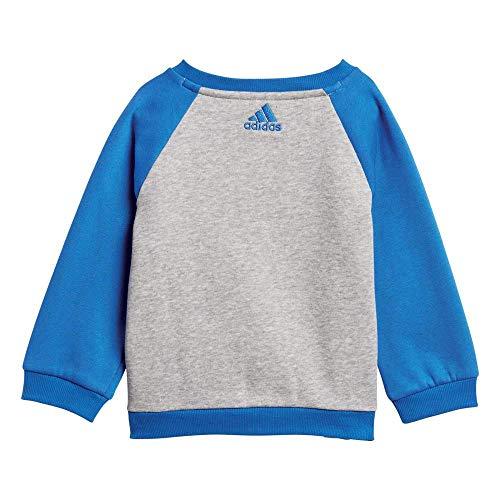 newest collection 117b5 ab2e7 ... adidas I Lin FL Pantalón de Chándal, Niños, Gris Blanco Azul ...