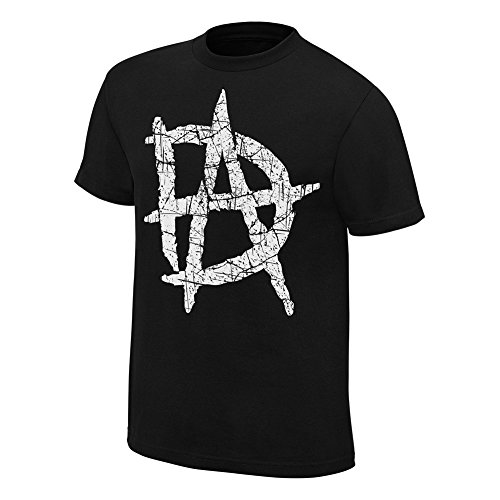 WWE -  T-shirt - Uomo nero medium