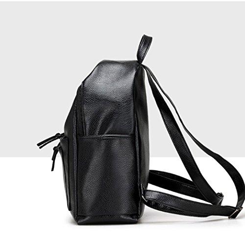 cf3a5548c0256 LILICAT Damen Travel Rucksack Mädchen Schultaschen Leisure Backpack Student  School Bag Weiche Frauen Tasche Shopper Schwarz ...