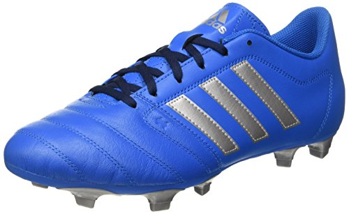 Adidas Gloro 16.2 Fg, Scarpe da Calcio Unisex - Adulto, Blu (Shock Blue/Silver Metallic/Collegiate Navy), 41 1/3