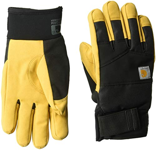 Carhartt Men's Stoker Glove, Black Barley, XXL - Carhartt Handschuh Schwarz