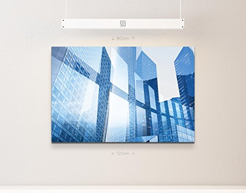 Abstraktes Bild – Businessgebäude