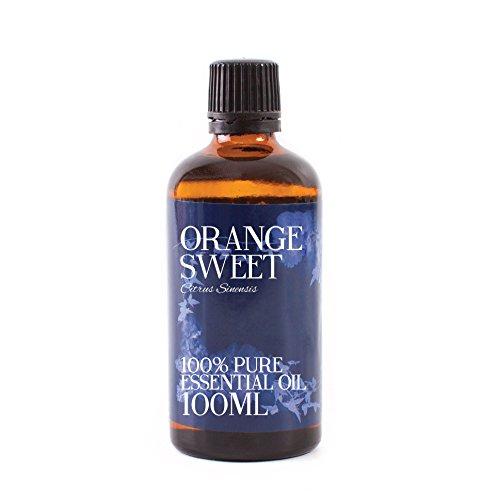 Mystic Moments Huile Essentielle D'orange Douce - 100ml - 100% Pure
