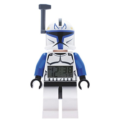 ClicTime - 9003936 - Lego Star Wars Captain Rex Minifiguren Wecker - mehrfarbige