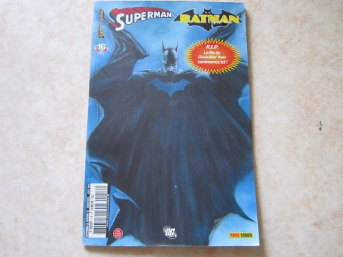SUPERMAN ET BATMAN N° 16 L ENNEMI AUX NEUF YEUX (aout 2009)