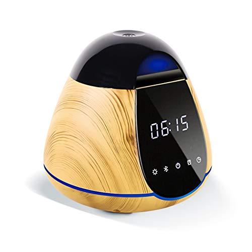 Diffusore di olio essenziale di Aromaterapia Bluetooth di umidificatore dell'aria intelligente Diffusore di olio essenziale di luce LED 300Ml Diffusore dell'olio essenziale stazione termale domesti
