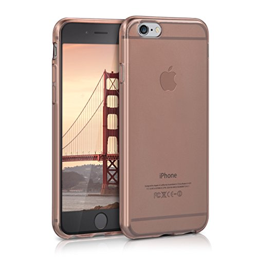 kwmobile Apple iPhone 6 / 6S Hülle - Handyhülle für Apple iPhone 6 / 6S - Handy Case in Rosegold