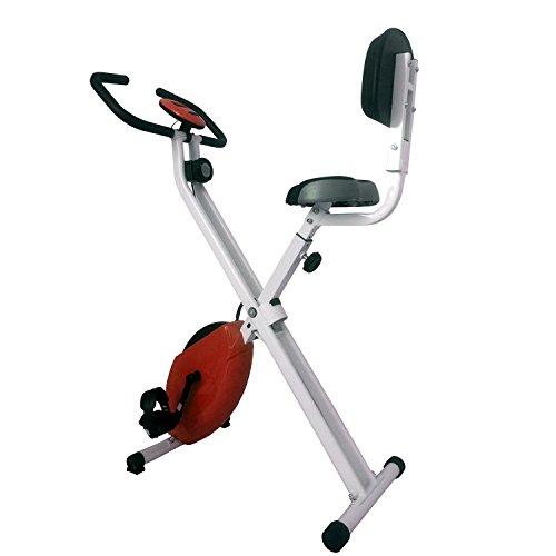Gyrowheel Vélo d'Appartement Pliable avec Dossier Mixte...