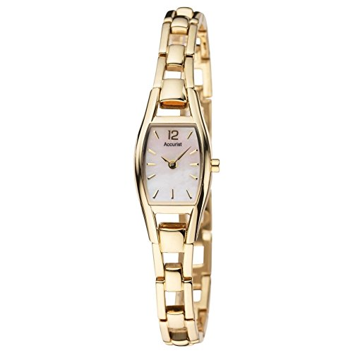 Accurist LB1036P LB1036PX – Wristwatch women's, stainless steel strap – Gold