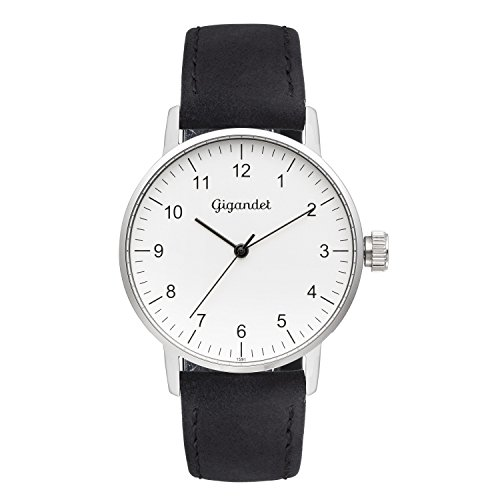 Gigandet Minimalism Women's Analogue Wrist Watch Quartz Silver Black G27-001