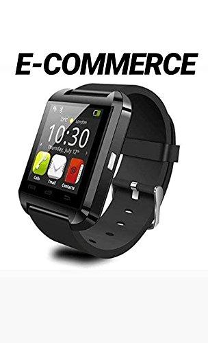 Smartwatch Bluetooth Orologio Intelligente Android iOS,Letopro U8 Smart Watch fitness band telefono da Polso con Pedometro/Promemoria di Chiamata Contatore di Calorie