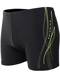 Bescita Short de Bain pour Homme /à s/échage Rapide Plage Stripe Running Natation Watershort Maillot ray/é Shorts Pantalon Rayures Pantalons