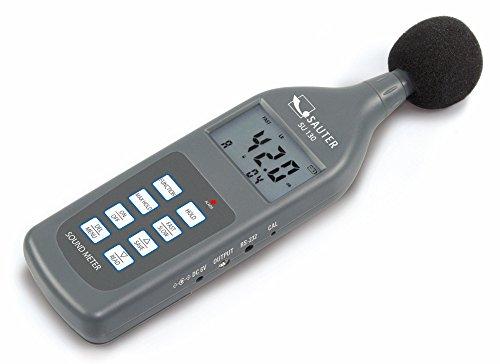 Professionelles Schallpegelmessgerät, Klasse II [Sauter SU 130] für Lärmmessungen in Bereichen wie z. B. Umwelt, Mechanik, Autoindustrie und viele mehr