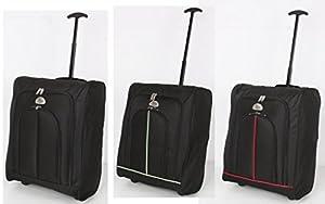 Elegant® Ryan Air EasyJet Trolley Cabin Approved Wheeled Suitcase Hand Luggage Flight Bag
