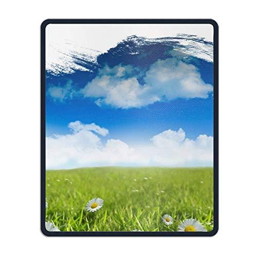 auspad Spiel Pad verfügt über Aquarell wasserdicht rutschfeste personalisierte rechteckige Mauspad Einheitsgröße,Gummimatte 11,8