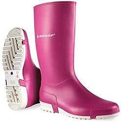 Dunlop Protective Footwear (DUO18) Dunlop Sport Retail, Botas de Goma de Trabajo Unisex Adulto, Pink, 40 EU