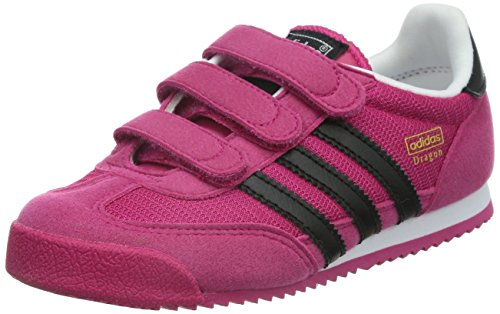 Adidas M17083, Chaussures de Running Entrainement Fille Rose
