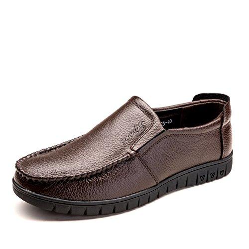 Business casual chaussures/Chaussure respirante du masculin/Chaussures d'Angleterreen cuir/Chaussures de foot C
