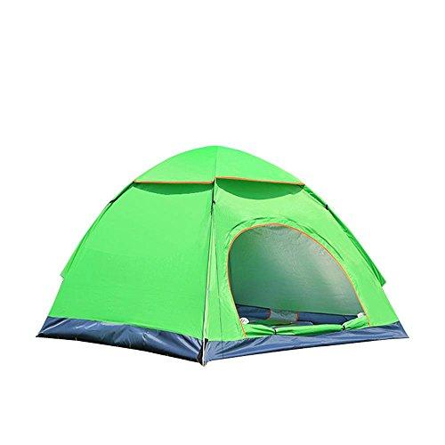 AOLVO Pop Up Beach Zelt Sun Shelter Vollautomatische Familie Camping Zelt–Anti-UV-Wasserdicht Portable 2–3Person Mosquito Netze zusammenklappbar Dome Zelt für Camping, Angeln, Wandern, Picknick grün