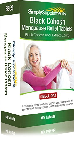 Black Cohosh Tablets Menopause Relief (THR) | 60 Tablets | 100% money back guarantee Test