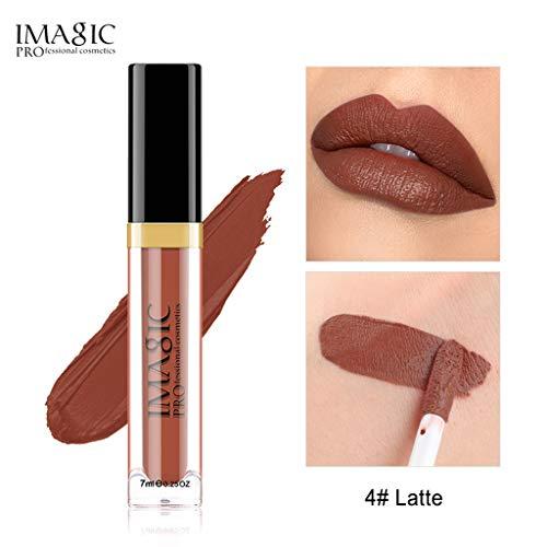 Flüssige Lippenfarbe Feuchtigkeitscreme Samt Matt Micro Flash Metall Lippenstift Make-Up Beauty Make-up, 12 Farben, 12 Arten