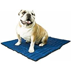 Aqua Coolkeeper Pacific Cooling Mat Cama Refrescante, M, Azul
