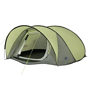 41eSWBQN0rL. SS300  - 10T Maxi Pop 3 - 3-person pop-up tent with canopy, outer tent with sleep compartment, WS=5000 mm