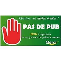Autocollant.fr Stickers plus de pub