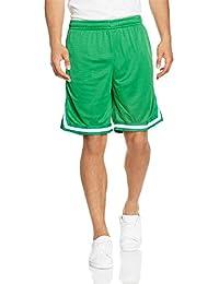 Urban Classics Herren Stripes Mesh Shorts