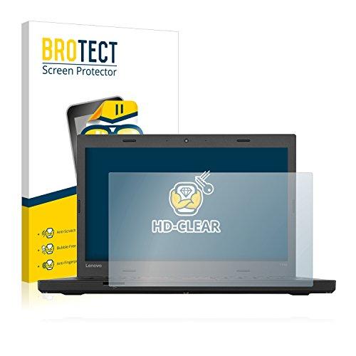 BROTECT Schutzfolie kompatibel mit Lenovo ThinkPad T460p UltraBook klare Bildschirmschutz-Folie