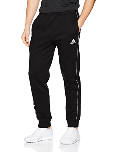 Adidas Herren Core 18 Trainingshose, Black/White, M -