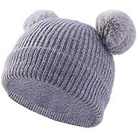 a4672407c6730 FF Nuevo Sombrero para Niños Sombrero De Punto 3-6 Sombrero De Otoño E  Invierno