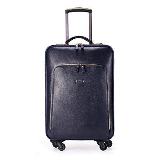 hoom-leder-trolley-rader-box-liner-gepack-fall-h-50l36-w-22-cm-blau