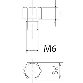 AUFLAGEBOLZEN M 6X15 HOCH