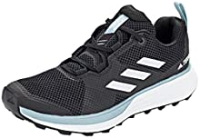 adidas Terrex Two W, Chaussure de Piste d'athlétisme Femme, Noir Noir/Blanc FTWR/Gris Cendre S18, 40 EU