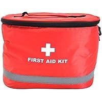 Mit Schultergurt Portable Haushalt Erste Hilfe Kit / Tasche, Rot preisvergleich bei billige-tabletten.eu