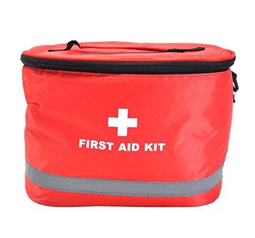 Con tracolla portatile per uso domestico kit di pronto soccorso/borsa, rosso