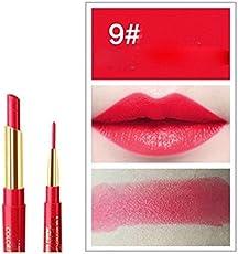 SBE Professional Natural Makeup 12 Colors 2 In 1 Lipstick + Lipstick Waterproof Lip Liner Long-Lasting Cosmetics Makeup Sets (#09)