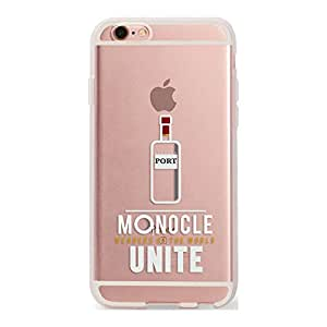 DailyObjects Port Silicone Clear Case For iPhone 6S
