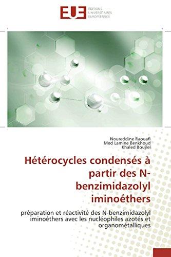 Hétérocycles condensés à partir des n-benzimidazolyl iminoéthers par Noureddine Raouafi