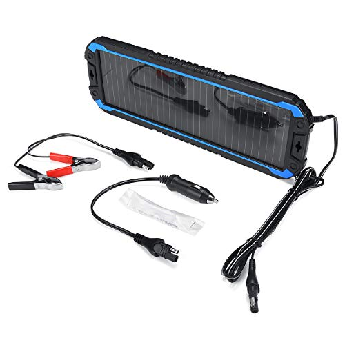 ChaRLes 1.5W 18V Tragbare Solar Panel Power Battery Ladegerät Backup Für Automobil Motorrad Boot Marine Rv Etc. (Automobil-solar-ladegerät)