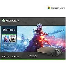 Microsoft Xbox One X 1TB Console - Gold Rush Special Edition Battlefield V Bundle