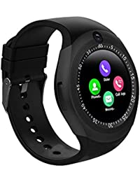 Xotak Bluetooth Sim Card 4G Supported Health and Fitness Tracker Digital Black Dial Men's Smartwatch