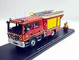 ALERTE Camion Pompiers Man TGM 15.290 Gallin FPT Pompiers du Nord SDIS 59 1/43 Série Limitée 400 exemplaires